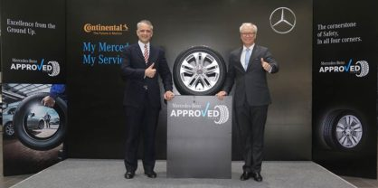 Mercedes-Benz Has Chosen Continental Tires