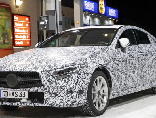 Brand New 2018 Mercedes-Benz CLS Spy Photos